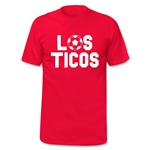 Costa Rica Los Ticos Soccer T-Shirt (Red)