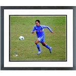 Montreal Impact Alessandro Nesta Action Shot Double Matted Framed Photo