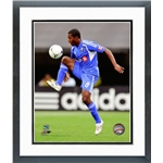 Montreal Impact Patrice Bernier Action Shot Double Matted Framed Photo