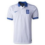 Greece 2014 Home Soccer Jersey