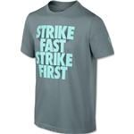 Nike Academy Boys GX Dri-FIT T-Shirt (Gray)