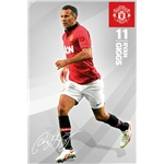 Manchester United Giggs Poster