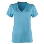 Nike Women's V-Neck Legend T-Shirt (Blue)
