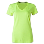 Nike Women's V-Neck Legend T-Shirt (Neon Yellow)