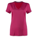 Nike Women's V-Neck Legend T-Shirt (Fuchsia)