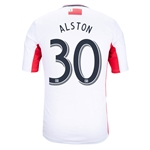 New England Revolution 2014 ALSTON Secondary Soccer Jersey