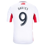 New England Revolution 2014 DAVIES Secondary Soccer Jersey