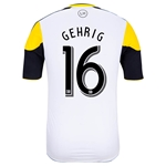 Columbus Crew 2014 GEHRIG Authentic Secondary Soccer Jersey