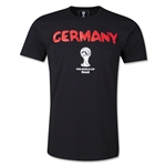 Germany 2014 FIFA World Cup T-Shirt (Black)