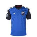 San Jose Earthquakes 2014 Youth Primary Soccer Jersey