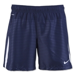 Nike Women's Max Graphic Short (Navy/White)