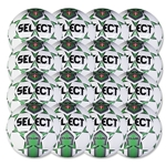 Select Club Training Ball 16 Pack (White/Green)