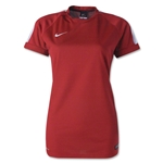 Nike Women's Squad 15 Flash Training Top (Red)