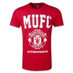 Manchester United Big MUFC Fashion T-Shirt (Red)