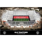 Manchester United Old Trafford Poster