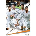 Real Madrid 13/14 Players Poster