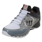 Warrior Siege Lacrosse Shoes (Silver/White/Black)