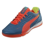 PUMA evoSPEED 1.2 Sala (Sharks Blue/Fluo Peach/Fluo Yellow)