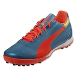PUMA evoSPEED 4.2 TT (Sharks Blue/Fluo Peach/Fluo Yellow)