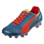 PUMA evoSPEED 2.2 FG (Sharks Blue/Fluo Peach/Fluo Yellow)