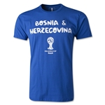 2014 FIFA World Cup Brazil(TM) Bosnia-Herzegovina Core Fashion T-Shirt (Royal)