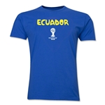 Ecuador 2014 FIFA World Cup T-Shirt (Royal)