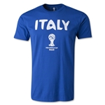 Italy 2014 FIFA World Cup T-Shirt (Royal)