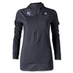adidas USA Sevens Women's TechFit Cold Weather Hoody (Black)