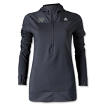 adidas World Rugby Shop Women's TechFit Cold Weather Hoody (Black)