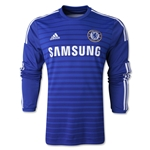 Chelsea 14/15 Jersey de Futbol Local (mangas largas)