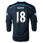 Chelsea 14/15 18 REMY LS Third Soccer Jersey