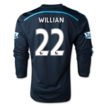 Chelsea 14/15 LS WILLIAN Third Soccer Jersey