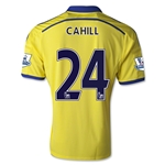 Chelsea 14/15 24 CAHILL Away Soccer Jersey