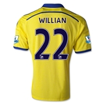 Chelsea 14/15 WILLIAN Away Soccer Jersey