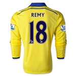 Chelsea 14/15 LS 18 REMY Away Soccer Jersey
