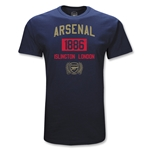 Arsenal 1886 Anniversary T-Shirt (Navy)