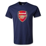 Arsenal Crest T-Shirt (Navy)