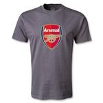 Arsenal Crest T-Shirt (Dark Gray)