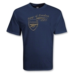 Arsenal Kings of London 1886 T-Shirt (Navy)
