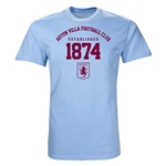 Aston Villa 1874 T-Shirt (Sky Blue)