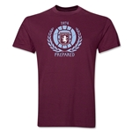 Aston Villa Distressed T-Shirt (Maroon)