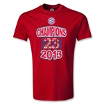 Bayern Munich 2013 Champion T-Shirt (Red)