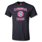 Bayern Munich 2013 Deutscher Meister T-Shirt (Black)