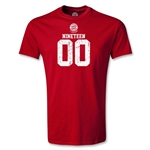 Bayern Munich Distressed 1900 T-Shirt (Red)