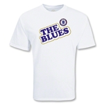 Chelsea Football Club The Blues Soccer T-Shirt (White)
