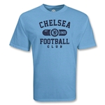 Chelsea Football Club Distressed Soccer T-Shirt (Sky)