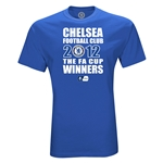 Chelsea 2012 FA Cup Winners T-Shirt (Royal)