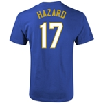 Chelsea Hazard T-Shirt (Royal)