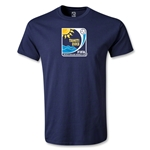 FIFA Beach World Cup 2013 Emblem T-Shirt (Navy)