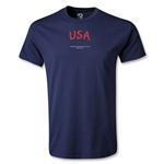 USA FIFA Beach World Cup 2013 T-Shirt (Navy)